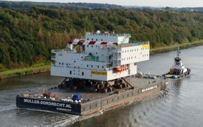 Dan Tysk offshore windfarm Topside