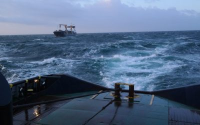 Emergency Towing Assistance on Northsea